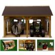 Garage in legno per Bruder e Siku 1:16
