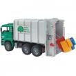 Bruder 02764 - Camion Man trasporto rifiuti carico posteriore