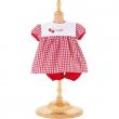 Vestito rosso ciliegie Corolle cm. 42-44