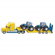 Tir con 2 Trattori New Holland 1:87 Siku