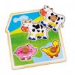 Puzzle «Mucca, maiale e oca»