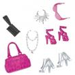 Barbie blister scarpe e accessori moda x0110