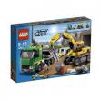 4203 Lego City - Trasportatore di escavatori 5-12 anni