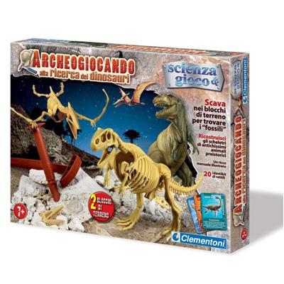 Archeogiocando Alla Ricerca Dei Dinosauri Giochi Giocattoli