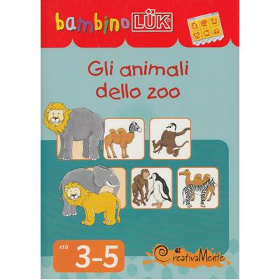 """Libretto """"Gli animali dello zoo"""" 3-5 anni"""