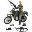 Militare con moto