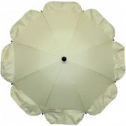 Ombrellino parasole beige per passeggino