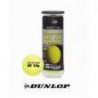 """Tubo 3 palle da tennis gialle """"Dunlop"""""""