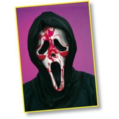 """Maschera sanguinante """"l'urlo"""""""
