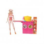Barbie con lavatrice