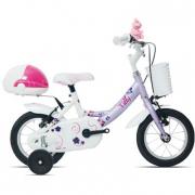 Bicicletta Titty bianco/lilla bimba 691 MTB12