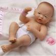 Bambola la Newborn boy 36 cm asiatico