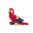 Pappagallo Cristoforo rosso 32cm