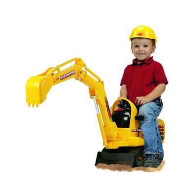 Escavatore Cavalcabile a batterie - Giochi - Giocattoli