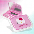 Calcolatrice agenda con specchio di Hello Kitty