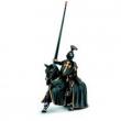Cavaliere nero a cavallo Schleich