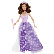 Barbie Principessa al party abito lilla W2858