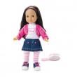 Bambola Michelle Gonna Jeans cm. 38 Trudi