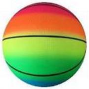 Palla basketball arcobaleno