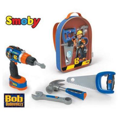 Bob the builder zaino con attrezzi