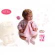Bambola cukina vestito in lana 42 cm