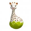 Sempre in piedi Sofia la giraffa