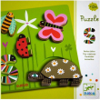Puzzle in rilievo Piccoli animali Djeco