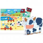Puzzle Le mucche nella fattoria 24 pezzi Djeco