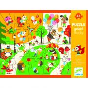 Puzzle gigante 24 pezzi la piazza