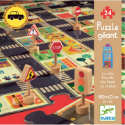Puzzle gigante la città 24 pezzi Djeco