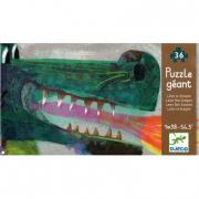 Puzzle gigante Leon il dragone 36 pezzi
