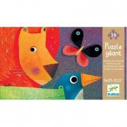 Puzzle gigante La parata degli animali Djeco