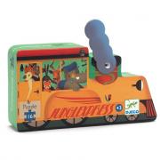 La locomotiva Silhouette puzzle 16 pezzi  - Puzzle Djeco