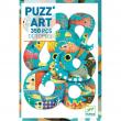 Puzzle PUZZ'ART gioco OCTOPUS 350 pezzi POLIPO Djeco
