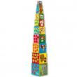 Cubi colorati da impilare Amici Djeco