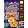 Quadri con lustrini - colori indiani Djeco