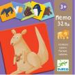 Memo Animali Colorati Djeco