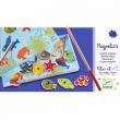 Pesca magnetica colorata Djeco