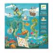 Storie Di Adesivi Di Djeco - Avventure In Mare