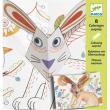 Disegni con sorpresa bunny up Djeco
