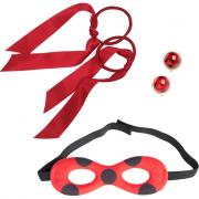 Miracolous lady bug set gioco accessori travestimento