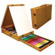 Valigetta colori con cavalletto 63 pezzi