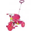 Triciclo comfort evolutivo Rosa con timone