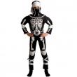 Costume Ninja scheletro 5/7 anni