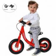 Bici senza pedali alluminio rossa 10?