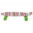 Skateboard multicolore