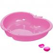 Sabbiera a 2 vasche Mela rosa