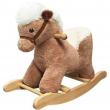 Cavallo a dondolo con schienale