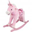 Unicorno cavallo a dondolo rosa