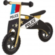 Bici pedagogica in legno polizia